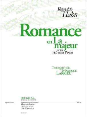 Romance en La Majeur - Flûte et piano Reynaldo Hahn laflutedepan