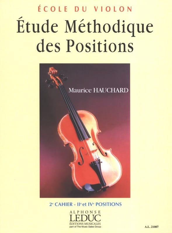 Etude des Positions Volume 2 - Maurice Hauchard - laflutedepan.com