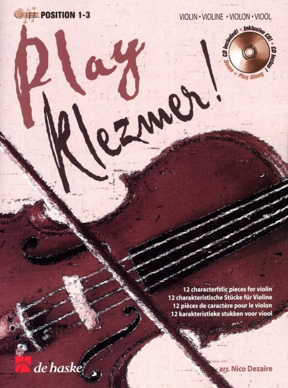Play Klezmer ! Violon - Nico Dezaire - Partition - laflutedepan.com