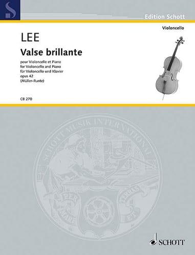 Valse Brillante, opus 42 - Sebastian Lee - laflutedepan.com