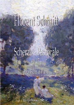 Scherzo-Pastorale Florent Schmitt Partition laflutedepan