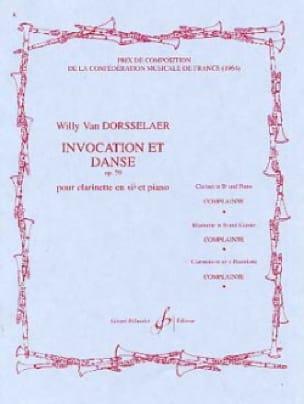 Invocation et Danse op. 59 - Willy van Dorsselaer - laflutedepan.com