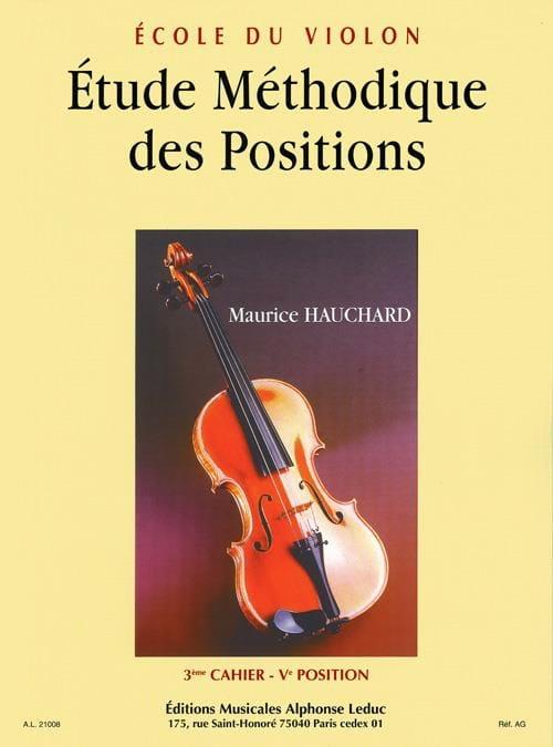 Etude des Positions Volume 3 - Maurice Hauchard - laflutedepan.com