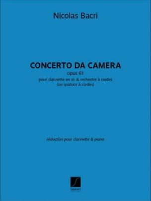 Concerto da Camera - Clarinette et Piano - laflutedepan.com