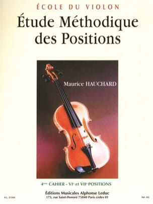 Maurice Hauchard - Etude des Positions Volume 4 - Partition - di-arezzo.fr