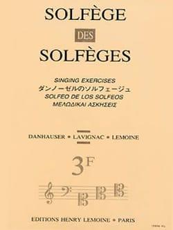 Volume 3F - S/A - Solfège des Solfèges Lavignac Partition laflutedepan