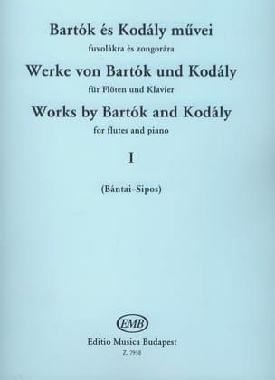 Werke von Bartok und Kodaly - Bd. 1 - Flöte Klavier laflutedepan