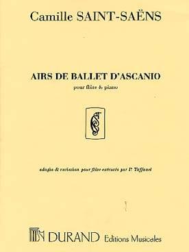 Airs de ballet d'Ascanio - Flûte piano SAINT-SAËNS laflutedepan