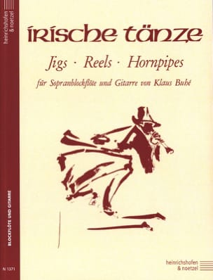 Irische Tanze - Sopranblockflöte Gitarre Partition laflutedepan