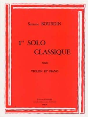 1er Solo classique - Suzanne Bourdin - Partition - laflutedepan.com