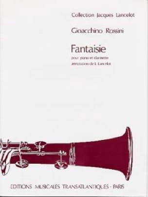 Fantaisie - ROSSINI - Partition - Clarinette - laflutedepan.com