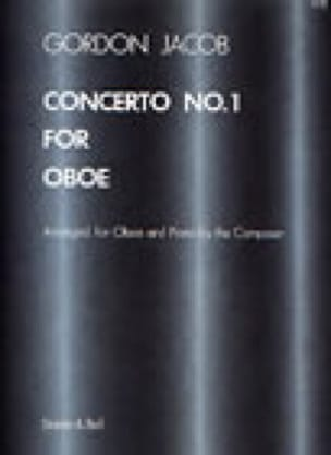 Concerto n° 1 for Oboe - Gordon Jacob - Partition - laflutedepan.com