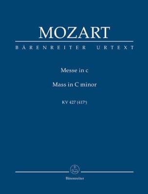 Missa c-moll KV 427 - Partitur MOZART Partition laflutedepan