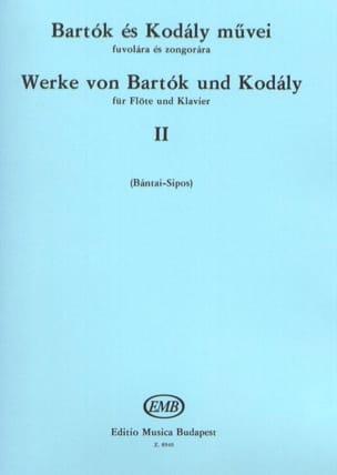 BARTOK - Werke von Bartok und Kodaly - Bd. 2 - Flauta Klavier - Partition - di-arezzo.es