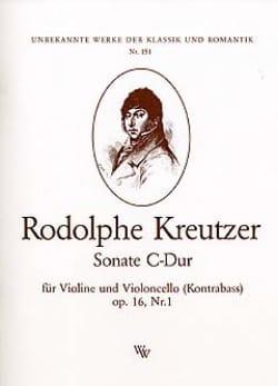Sonate C-Dur op. 16 n° 1 Rodolphe Kreutzer Partition 0 - laflutedepan