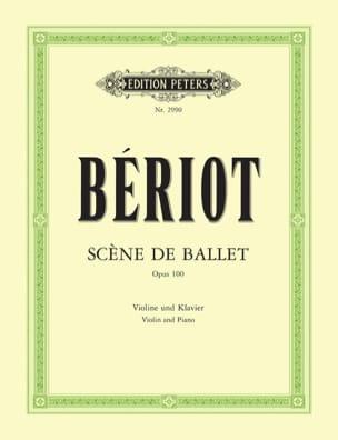 Scène de ballet op. 100 BÉRIOT Partition Violon - laflutedepan