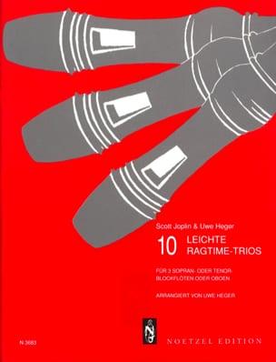 10 Leichte Ragtime-Trios - Blockflöten o. Oben laflutedepan