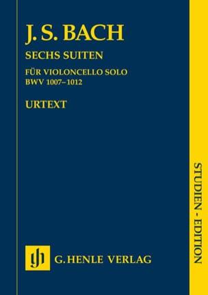 Six suites BWV 1007-1012 pour violoncelle seul BACH laflutedepan