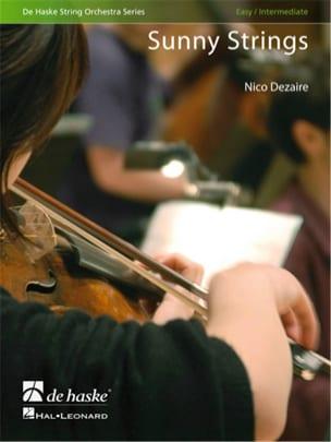 Sunny Strings Nico Dezaire Partition ENSEMBLES - laflutedepan