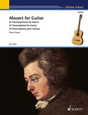 Mozart for Guitar MOZART Partition Guitare - laflutedepan