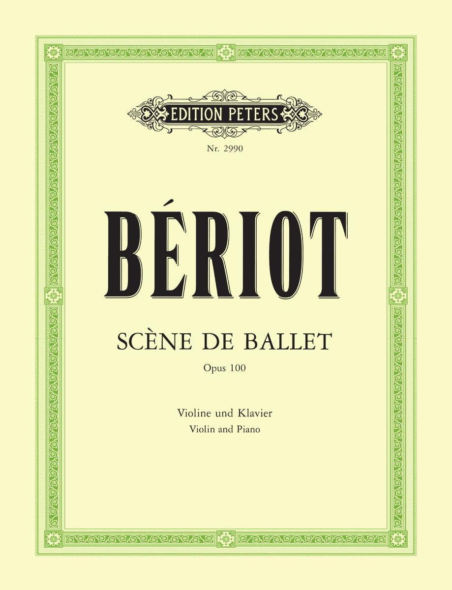 Scène de ballet op. 100 - BÉRIOT - Partition - laflutedepan.com