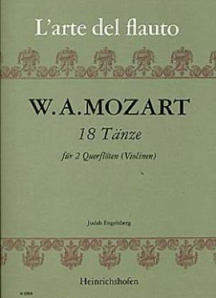 18 Tänze - 2 Flöten Violinen - MOZART - Partition - laflutedepan.com