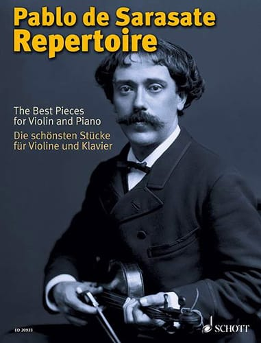 The Best Pieces For Violon And Piano - SARASATE - laflutedepan.com