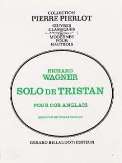 Solo de Tristan WAGNER Partition Hautbois - laflutedepan
