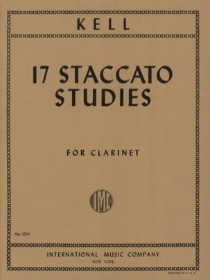 17 Staccato Studies - Reginald Kell - Partition - laflutedepan.com