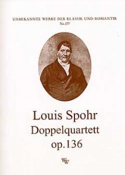 Doppelquartett op. 136 -Partitur + Stimmen SPOHR laflutedepan