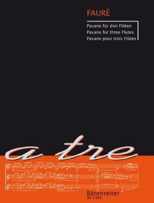 Pavane - 3 Flûtes - FAURÉ - Partition - laflutedepan.com