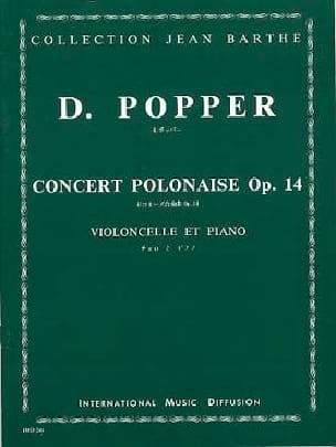Concert Polonaise op. 14 - David Popper - Partition - laflutedepan.com