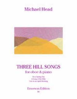 Three Hill Songs - Michael Head - Partition - laflutedepan.com