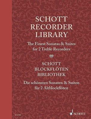 The Finest Sonatas and Suites - 2 Flûtes à Bec Alto laflutedepan
