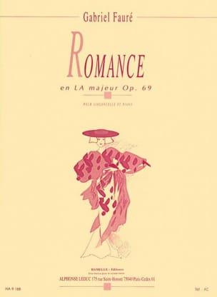 Romance en LA Majeur opus 69 FAURÉ Partition laflutedepan