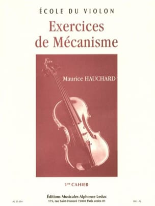 Maurice Hauchard - Volume 1 Mechanism Exercises - Partition - di-arezzo.es