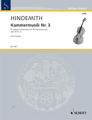 Kammermusik Nr. 3 - Concerto op. 36 n° 2 HINDEMITH laflutedepan