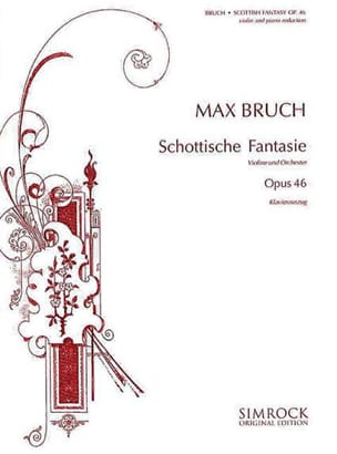 Max Bruch - Scottish Fantasy op. 46 - Partition - di-arezzo.com