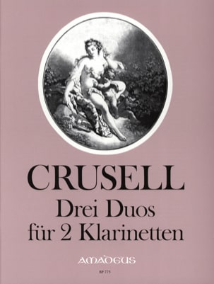 3 Duos - 2 Klarinetten Bernhard Henrik Crusell Partition laflutedepan