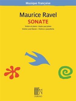 Sonate - Violon et Piano RAVEL Partition Violon - laflutedepan