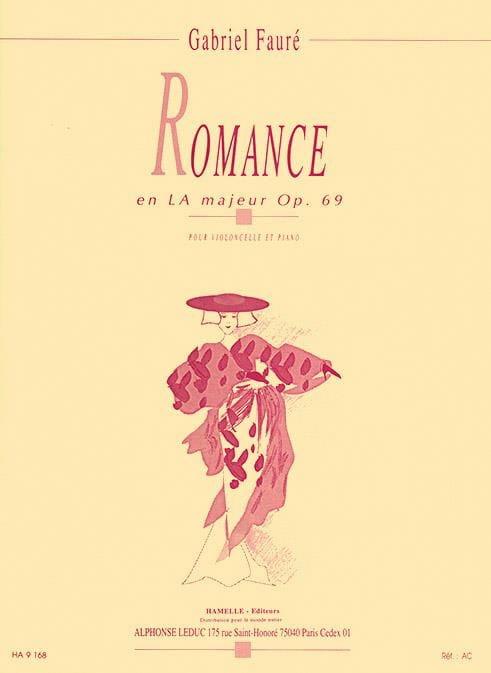 Romance en LA Majeur opus 69 - FAURÉ - Partition - laflutedepan.com