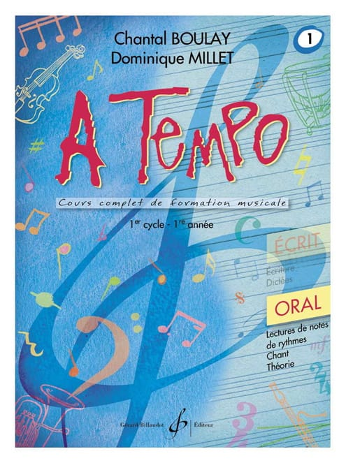 A Tempo Volume 1 - Oral - BOULAY - MILLET - laflutedepan.com