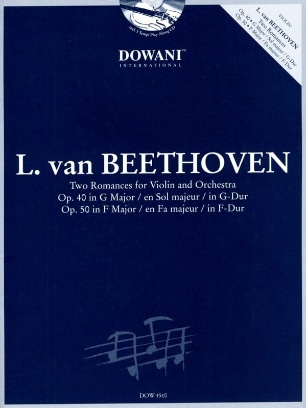 2 Romances op. 40 et op. 50 - BEETHOVEN - laflutedepan.com