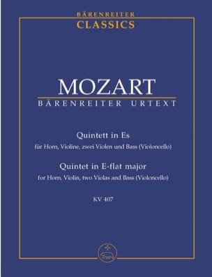 Quintett für Horn, Violine, 2 Violen und Cello, Kv 407 laflutedepan