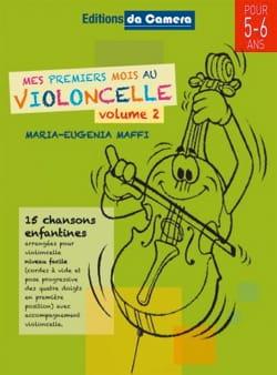 Mes Premiers Mois au Violoncelle - Volume 2 - laflutedepan.com