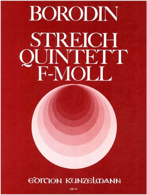 Streichquintett f-moll -Stimmen - BORODINE - laflutedepan.com