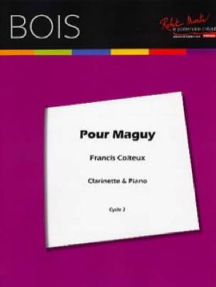 Pour Maguy - Francis Coiteux - Partition - laflutedepan.com
