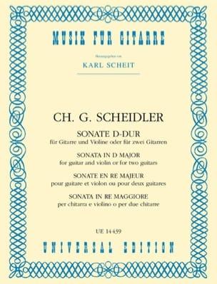 Sonate D-Dur - Violine Gitarre o. 2 Gitarren laflutedepan