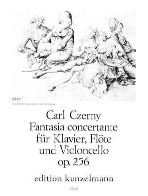 Fantasia concertante op. 256 -Klavier Flöte Violoncello laflutedepan