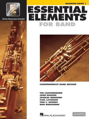 Essential Elements Vol 1 - Bassoon Partition Basson - laflutedepan
